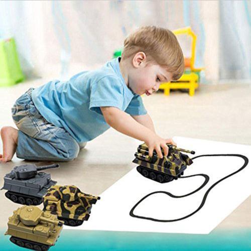 INDUCTIVE TANK - лучший подарок ребенку. Танк - игрушка следует по линиям которые Вы рисуете.